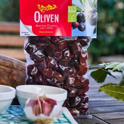 kalamata oliven roh